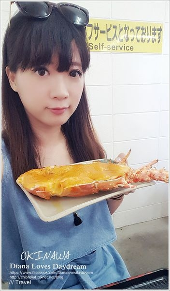 沖繩 ▍ 美國村附近♥ 泡瀨漁港「パヤオ」直売店♥ 評價兩極的海膽焗烤龍蝦套餐