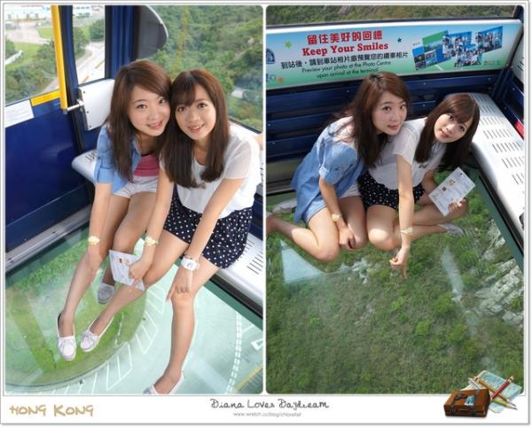 旅行 ▍♥ 香港--昂坪360+天壇大佛+滿記甜品 ♥ 坐水晶纜車,腳軟心驚驚