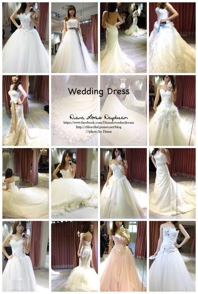 喜喜 ▍拍照款婚紗試穿 part 4 ♥ Bear wedding ♥ 白紗15款分享