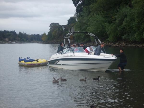 20101003 Tubing @Lake Oswego