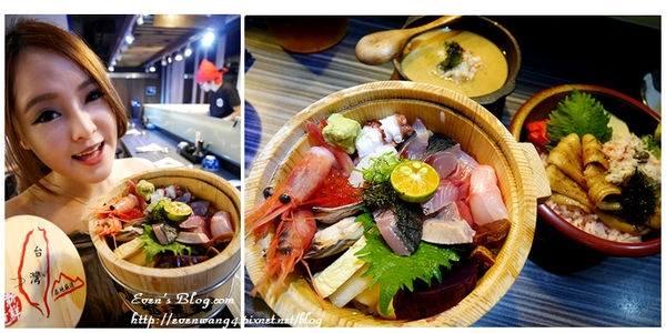 【食記。台北】第三訪肥貓漁夫啦!!這次來點台灣特有海鮮丼