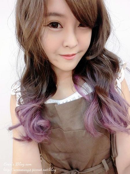 【染髮】霧面灰咖x夢幻粉紫。Happy Hair總店/Aaron ♥