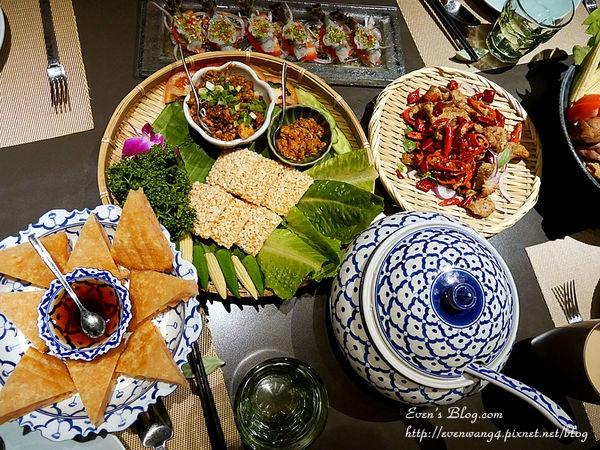 【食記。台北】東區時尚泰式創意料理。泰集Thai Bazaar大安店 ♥