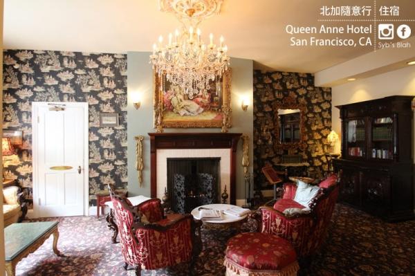 北加州隨意行。第二站住宿 ► 鬧鬼的旅館你敢住嗎 舊金山 Queen Anne Hotel