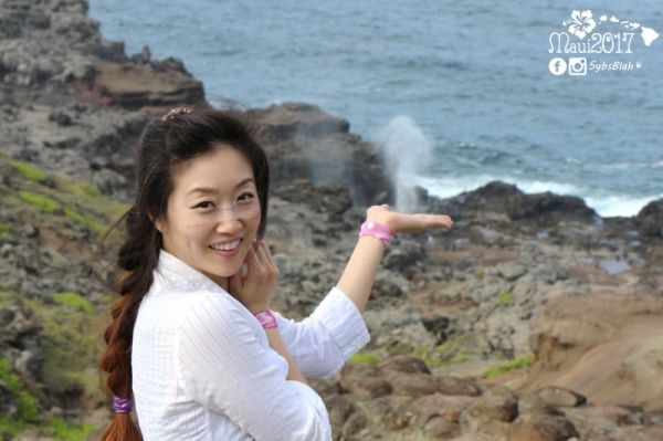 美國, 夏威夷, 茂宜島, Hawaii, Maui, Nakalele blowhole, 噴水孔, 自然奇觀, 夏威夷景點, 自駕遊, 旅行, 旅遊, 遊記