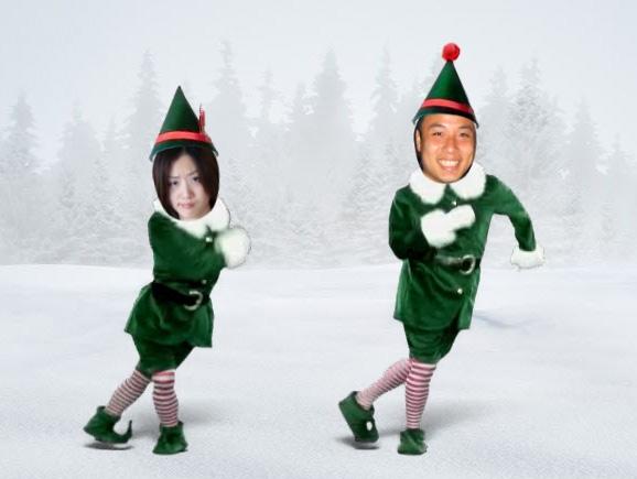 親愛的我們變成elf啦!