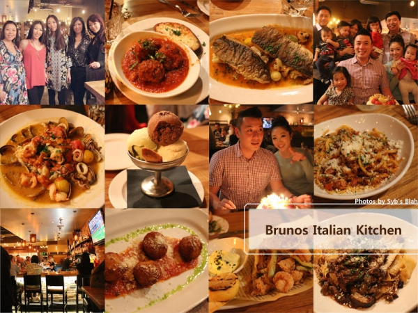 <OC> 聚餐約會的好選擇 Brunos Italian Kitchen (Brea)