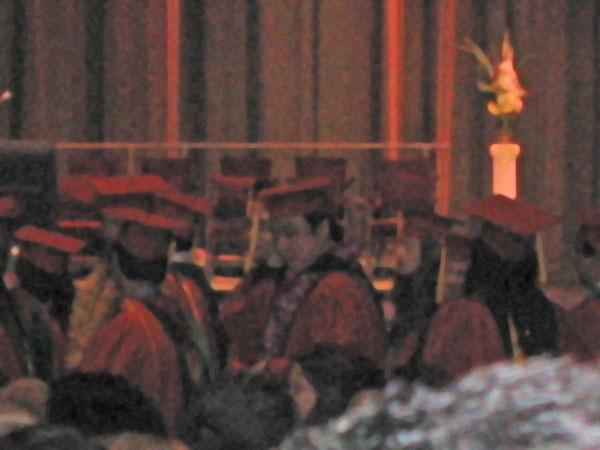 Andy畢業了