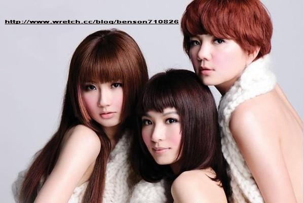 2010流行髮型~S H E女藝人新髮型髮色大解析~ELLA ~HEBE ~SELINA~尚洋BENSON為您分析