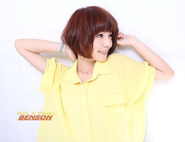 2014春夏流行髮型~夏日俏皮甜心女孩/西門町髮型設計師短髮專家BENSON