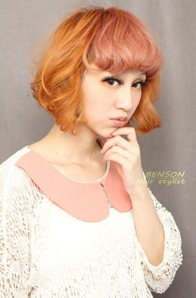 2014流行髮型~百變娜娜短髮髮型~法國甜品的誘惑歐布雷風格~西門町短髮髮型達人BENSON