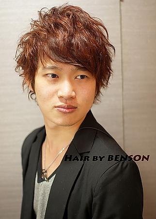 型男流行髮型@日系雅痞風格@另有男性專屬優惠~西門町髮型設計BENSON