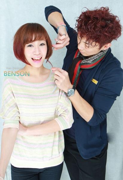 早春流行髮型~變化BOB不孤單的經典髮型~台北剪髮推薦西門町東區尚洋髮型BENSON