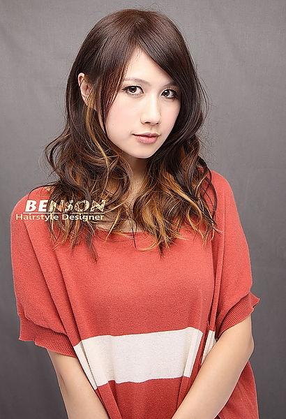 2014流行髮型~個性時尚染髮造型~BY西門町尚洋BENSON