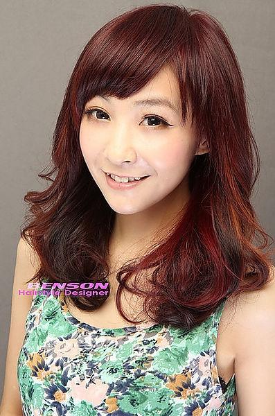 2014流行髮型-明星髮型華人新光大道2林雨葶-西門町髮型BENSON