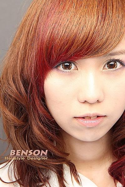 【2014流行髮型】文藝復興的濃厚色彩-西門町染髮髮型尚洋BENSON