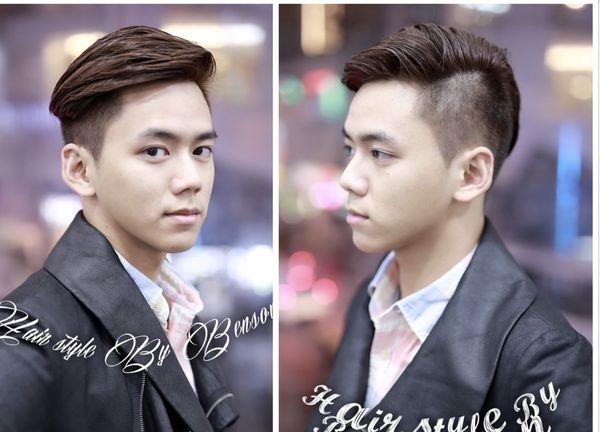 2017型男流行髮型~UNDER CUT~現代油頭風格(陸續增加中)男藝人髮型風格~台北剪髮推薦西門町東區男生髮型師BENSON