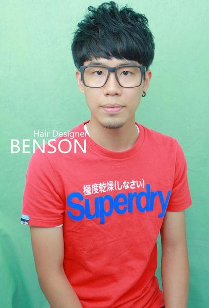 台北剪髮型男流行髮型~日韓時尚型男輕熟主義 男生燙髮~西門町東區尚洋BENSON