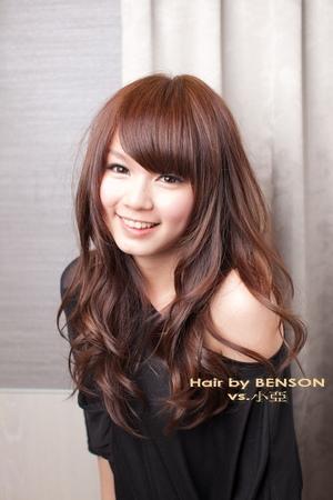 流行新髮型。春夏基本款百搭款@大地色系列~西門町髮型設計BENSON