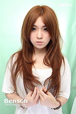 2014流行髮行春夏流行髮型髮色@蜜糖駝色~浪漫知性休閒的小女人~西門町髮型設計BENSON
