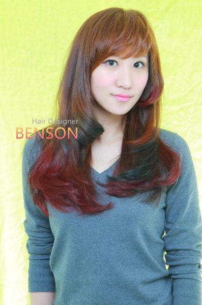 春夏流行髮型髮色~輕瀏海 高彩度 多層次 染髮哲學~台北西門町優質髮型BENSON