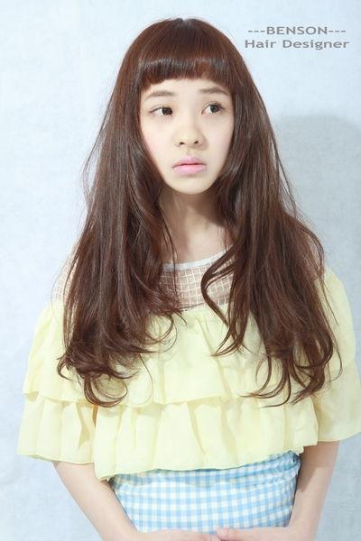 夏季流行髮型~存在感強烈的個性短劉海~西門町東區髮型尚洋BENSON