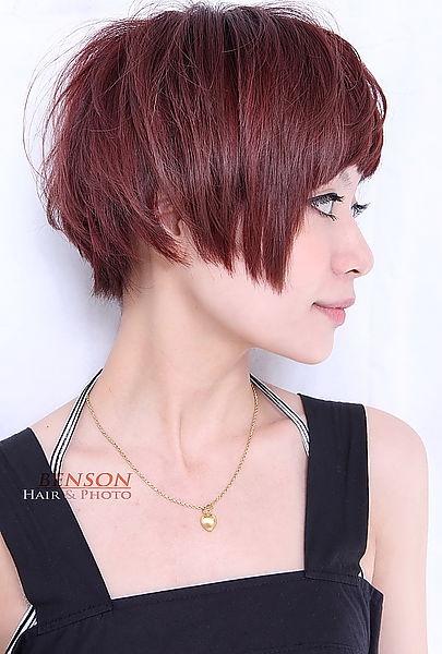 2013年日系風格小顏俏麗感髮型-西門町髮型師班森BENSON