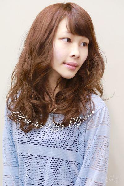 2017流行髮型~素人大改造換上春裝的秀髮~台北東區髮型西門町尚洋BENSON