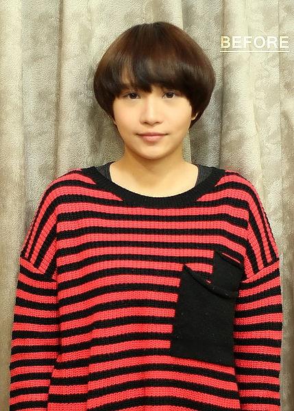 造型時尚風潮流行短髮型-西門町尚洋髮型成都店班森設計師/副經理