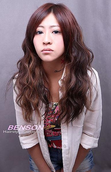 2014流行髮型 夏~秋 美式休閒浪漫風格(二)@三管波浪卷~西門町髮型設計BENSON
