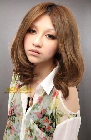 2014流行髮型~夏日嚴選~海洋風女孩~西門町髮型設計BENSON