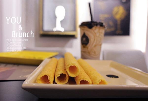 ▌午茶 ▌石安牧場手工蛋捲,金黃酥脆好幸福!!