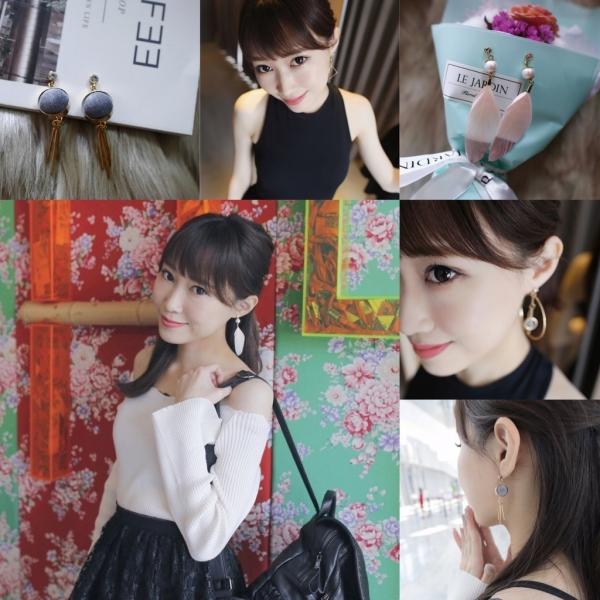 【飾品】令人驚艷的平價高質感貼式耳環OsmaR絢彩家(下)