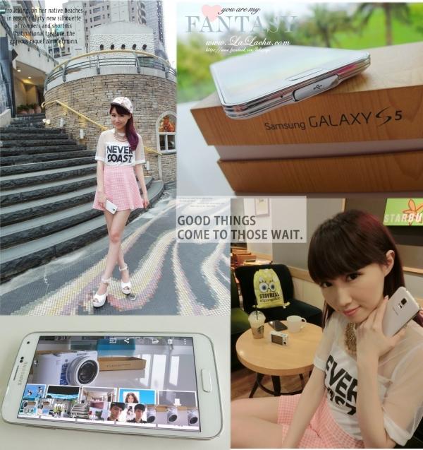 [ 瘋3C ] Samsung GALAXY S5豐富我的時尚大小生活❤
