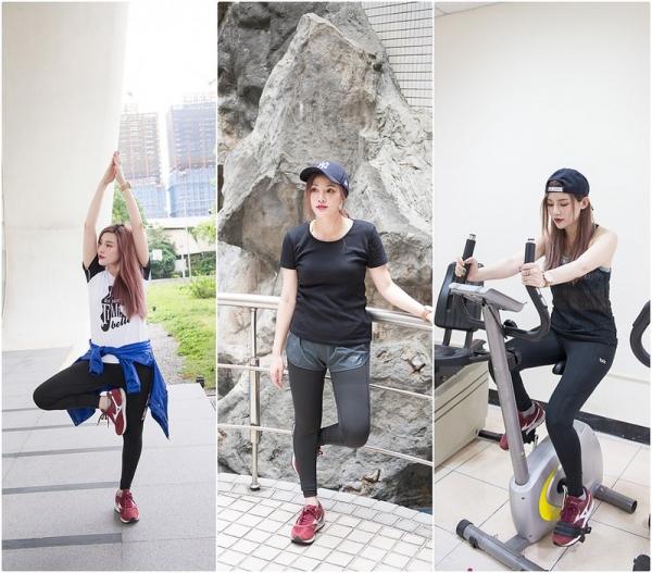 【穿搭】我的運動&重訓好夥伴。WIWI遠紅外線活腿壓力褲三套穿搭