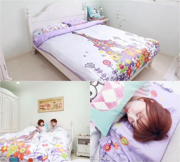【居家】La mode讓房間更舒服了。換上清爽的花繪巴黎床組度過夏天