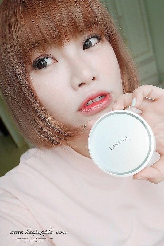 【妝】打造水、亮、潤、白的聚光美肌。LANEIGE蘭芝水聚光淨白氣墊粉霜
