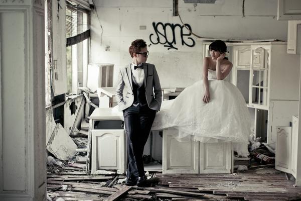 【婚禮】好喜歡這種自然氛圍。ONLYYOU我們兩人的自助婚紗旅拍特輯❤