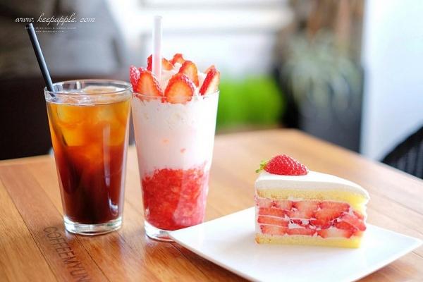 【逼先生專欄】《首爾自由行全攻略》1、2號線新設洞站:夢幻般草莓蛋糕咖啡名家