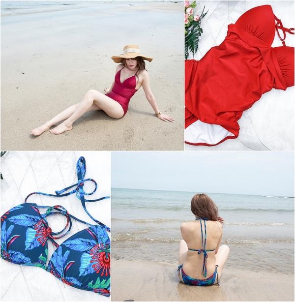 【穿搭】夏天真的來了阿。地表最強比基尼Ulaswin兩套泳裝穿搭