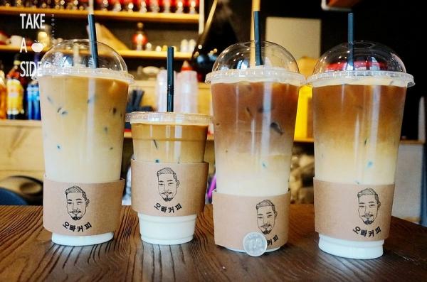 【逼先生專欄】《2016首爾自由行》弘大驚見巨無霸級1公升咖啡:在地人狂推薦的「OPPA COFFEE」~