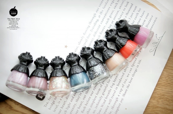 【指彩】繽紛色彩。Miss Hana盛世女爵奇幻馬戲團指甲油+四款彩繪分享❤