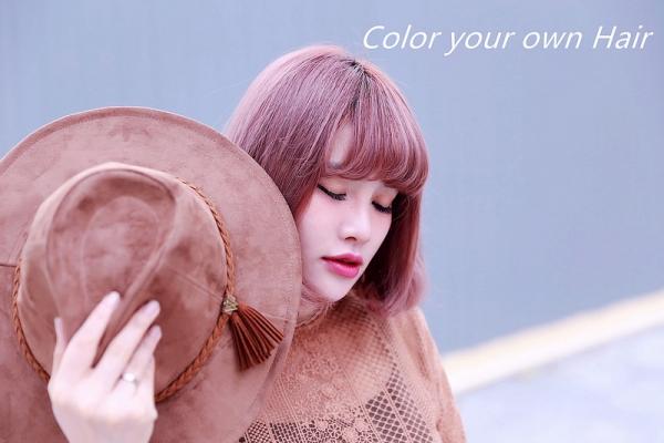 【HAIR】霧面髮色當紅的一年。粉霧紫羅蘭➨內外漸層粉灰➨玫瑰金色➨乾燥玫瑰粉紅