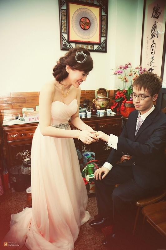 【婚禮】終於要來發我們的中部場訂婚之喜日。儀式篇❤