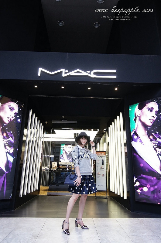 【妝容】M.A.C打造個人訂製化專屬彩妝。學到好多化妝小技巧