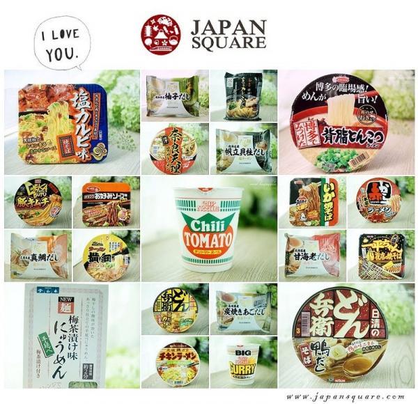 【泡麵特輯】22款日本熱賣的在地泡麵系列評比,在「JAPAN SQUARE」入手的各類泡麵集合~
