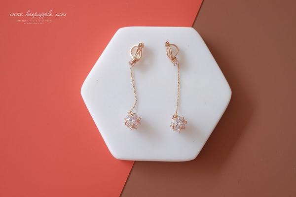 【買物】最近買的一些飾品們分享 // 夾式耳環、頸鍊、短項鍊、毛衣鍊。