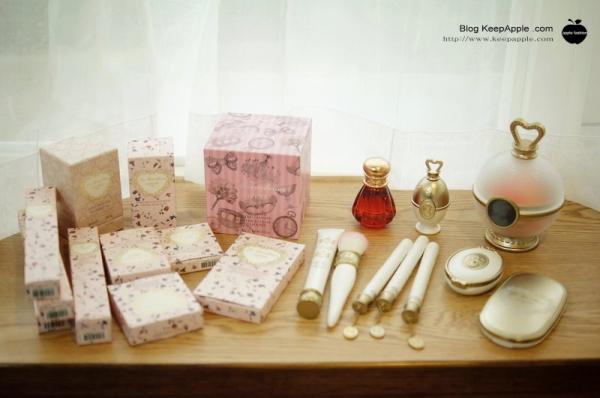 【敗家】在銀座買了6萬多日幣的戰利品。超美的laduree彩妝開箱❤