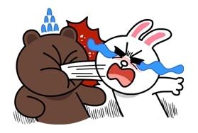 LINE-Stick-0955-熊大&兔兔-15047-31
