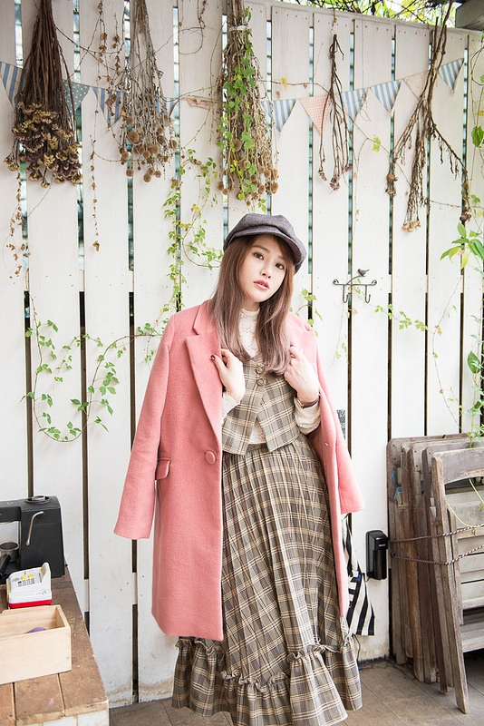 【食記+日穿搭】a day日日村‧日式鄉村雜貨風咖啡廳與我的一日英倫風穿搭